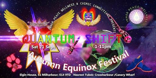 Quantum Shift Autumn Equinox Conscious Party + Healing Garden Wellness Festival