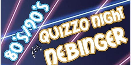 Quizzo Night for Nebinger! tickets