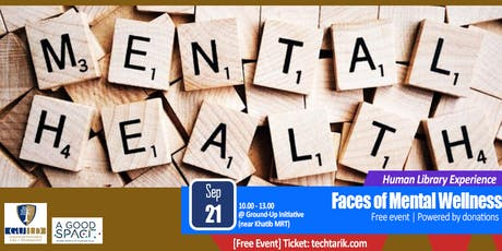 Human Library: Faces of Mental Wellness tickets