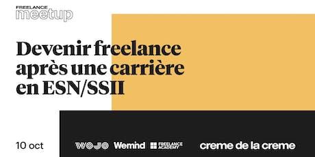 Freelance Meetup #14 - Devenir freelance après une carrière en ESN/SSII billets