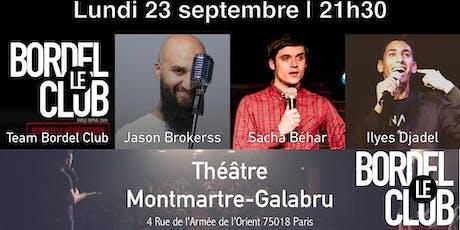Le Bordel Club #57 (L'APRÈS RENTRÉE!) tickets