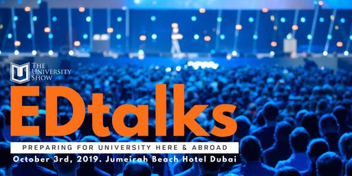 EDTalks @ The University Show 2019