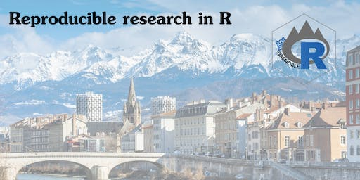 R user group session 21: Reproducible research in R