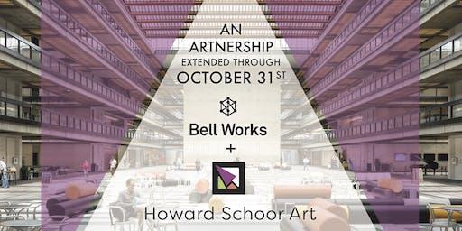 """Thursday Nights @ Bell Works + Howard Schoor Art's """"Artnership"""""""