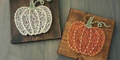 Fall Pumpkin String Art tickets