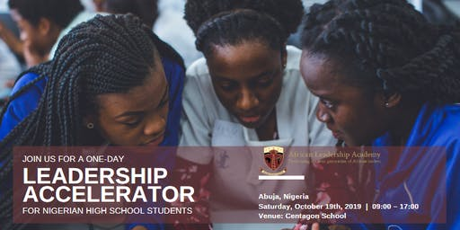 Leadership Accelerator for Exceptional High School Seniors - Abuja. Nigeria