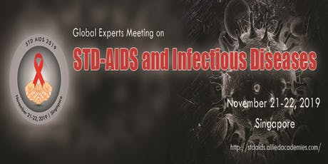 Global experts meeting on STD AIDS and infectious diseases tickets