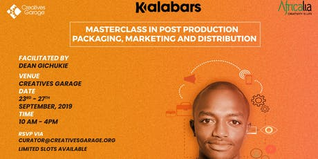 Masterclass in Post Production Business tickets