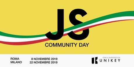JAVASCRIPT COMMUNITY DAY biglietti