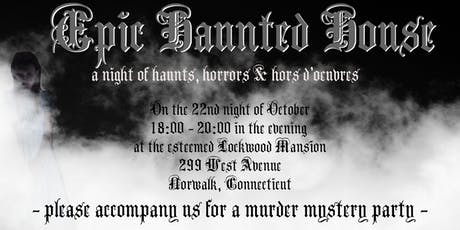 EPIC Haunted House @ Lockwood Mansion tickets