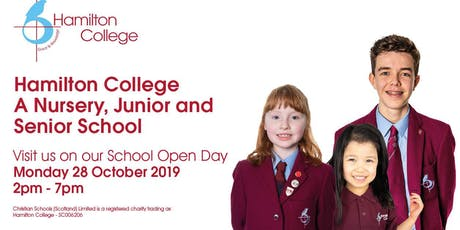 Hamilton College Open Day 2019 tickets