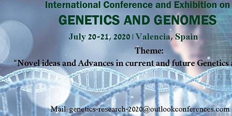 Genetics and Genome conference 2020 tickets