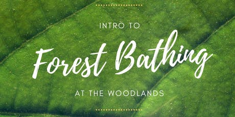 Intro to Forest Bathing tickets