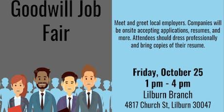Goodwill Job Fair tickets