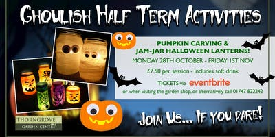 Halloween Half Term at Thorngrove!