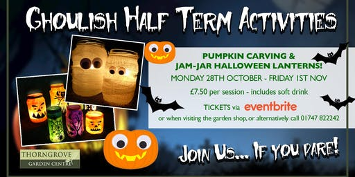 Halloween Half Term at Thorngrove!