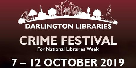 Darlington Libraries: Crime Fiction Workshop with Dr Noir tickets