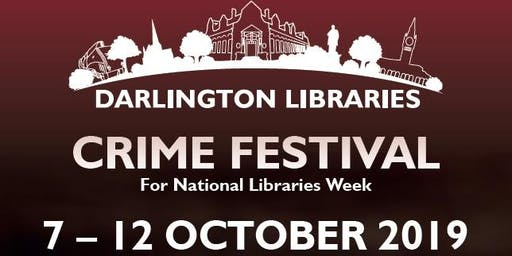 Darlington Libraries: Crime Fiction Workshop with Dr Noir