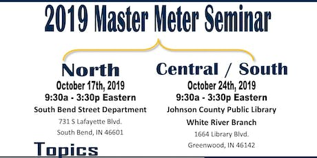 2019 IURC Master Meter Seminar SOUTH/CENTRAL tickets