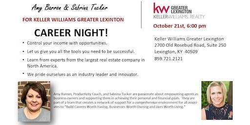 Keller Williams Greater Lexington Career Night