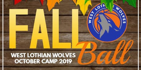 Fall Ball 2019: West Lothian Wolves October Holiday Basketball Camp tickets