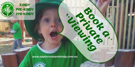 Monday 2YR Kindy Private School Viewing
