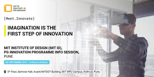 MIT Institute of Design (MIT ID), PG Innovation Programme Info Session Pune