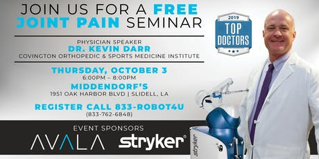 Free Joint Seminar - Kevin Darr, MD tickets