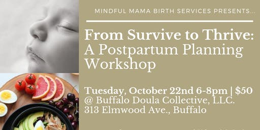 From Survive to Thrive: A Postpartum Planning Workshop