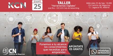 Taller - Herramientas Digitales para todos entradas