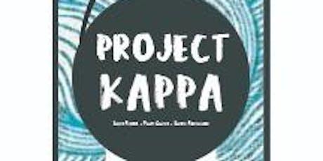 Project KAPPA: Building Sensors, Saving Waters  tickets