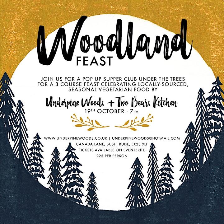Woodland Feast - A Seasonal Vegetarian Feast in the Woods image