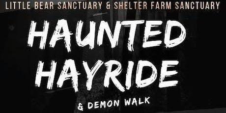 Haunted Hayride and Demon Walk tickets