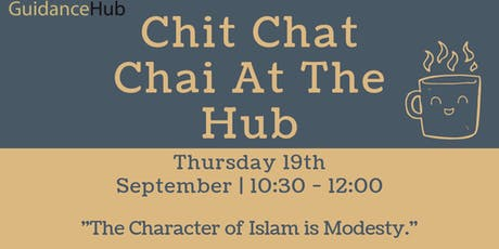 Chit Chat Chai at the Hub (Ladies - Thurs 19th Sep | 10:30AM) tickets