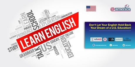 Don't Let Your English Hold Back Your Dream of a U.S. Education! tickets