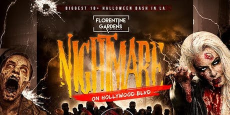 A Nightmare on Hollywood Blvd 18+ Halloween Event with DJ INFERNO tickets