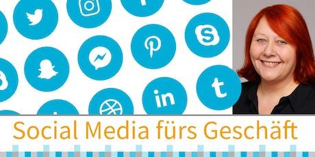 Social Media fürs Geschäft: ein Überblick Tickets