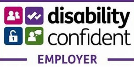 Recognise, Recruit and Retain: Disability Confident tickets