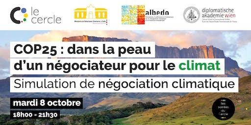 Pré-COP25 : dans la peau d'un négociateur