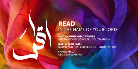 READ in the name of your Lord tickets