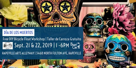 Hapeville Day of the Dead Bicycle Float Workshop  tickets