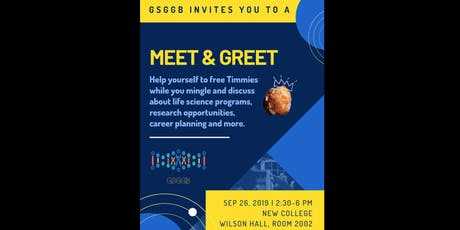 GSGGB presents: Drop in Meet and Greet! tickets