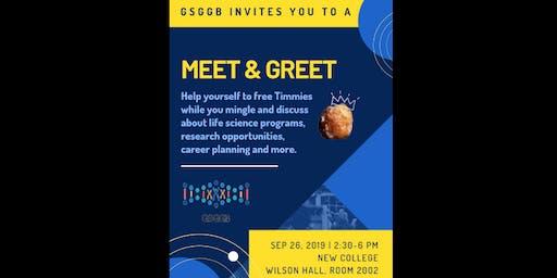 GSGGB presents: Drop in Meet and Greet!