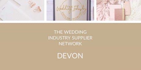 The Wedding Industry Supplier Network Devon October Event tickets
