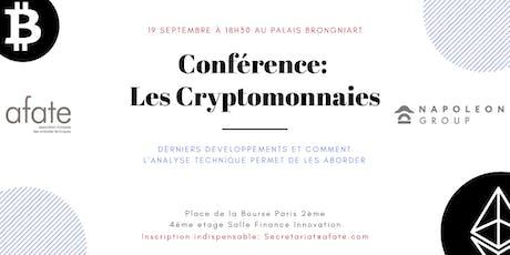 Conférence Crypto Monnaies - Evénement AFATE / Napoleon X billets