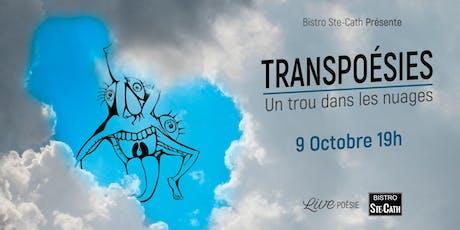 Transpoésies avec Pascale Cormier billets