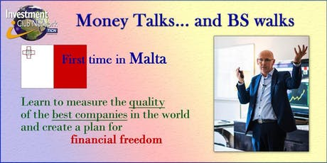 Money Talks and BS Walks - Malta tickets