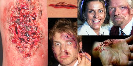 Halloween Casualty and Special effects SFX  Course