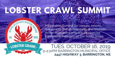 Lobster Crawl Summit tickets