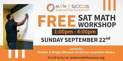 Free SAT Math Workshop